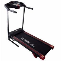 Total Fitness - Treadmill Elektrik 1 Fungsi TL 626 Hitam