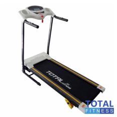 TOTAL FITNESS Treadmill Elektrik 1 Fungsi TL 626 Putih
