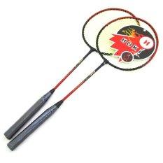 TSH Raket Badminton 2 Buah - Merah