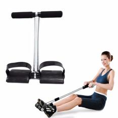 Tummy Trimmer Alat Pembakar Lemak Perut Tummy Trimmer Alat Olahraga Fitness - Hitam