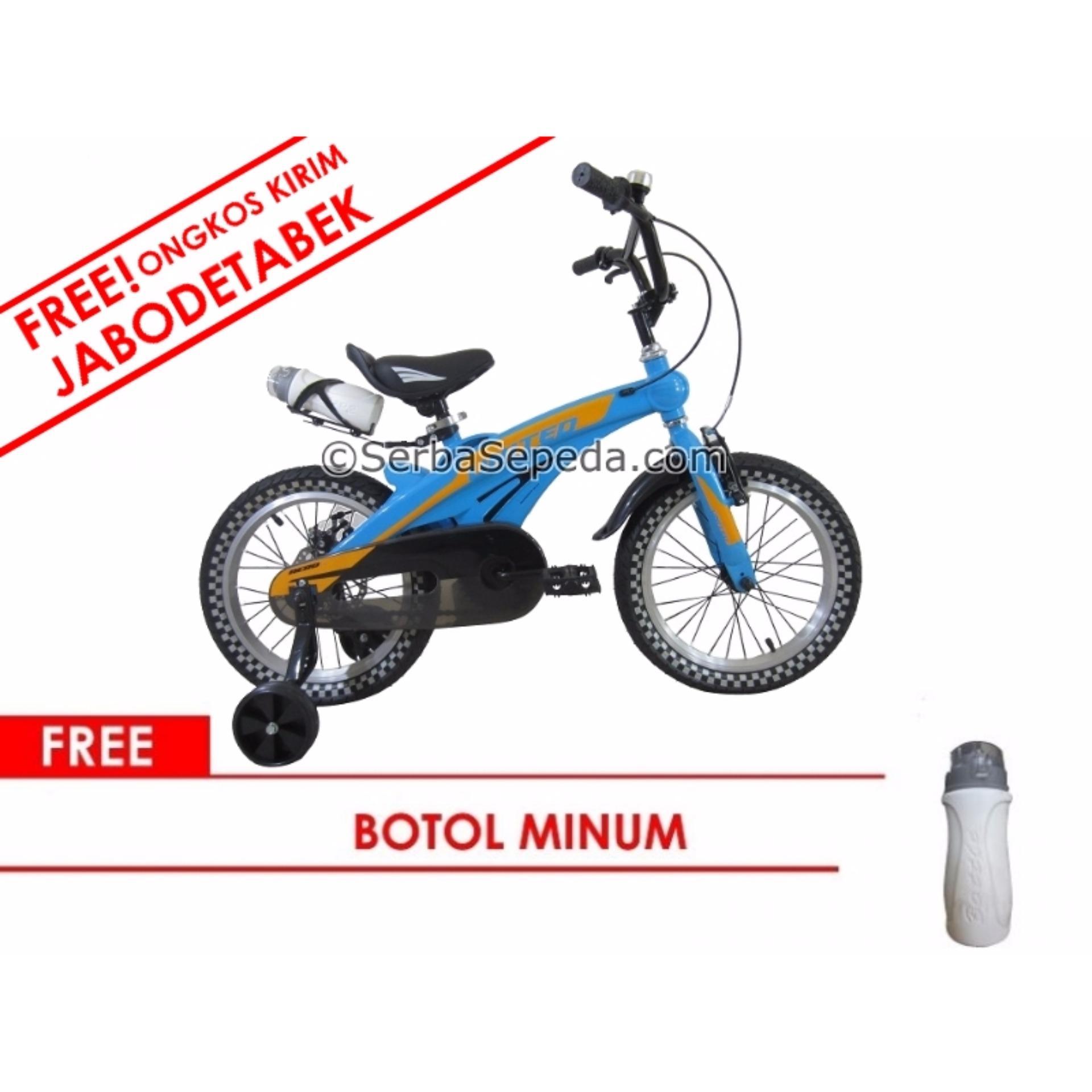 Pencari Harga United Sepeda Anak 16 Aero Lite Gratis Ongkir Perakitan Khusus Jabodetabek