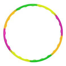Universal Child Removable Soft Hula Hoop 65 CM - Multi-Color