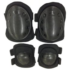 Universal Decker Duker Deker Sikut Lengan Lutut Arm Sleeve Knee Pad 1 Set Sikut+Lutut