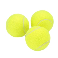 vishine mall-Court Tennis Ball Durable Elasticity Round Training Learning Sports Exercise - intl