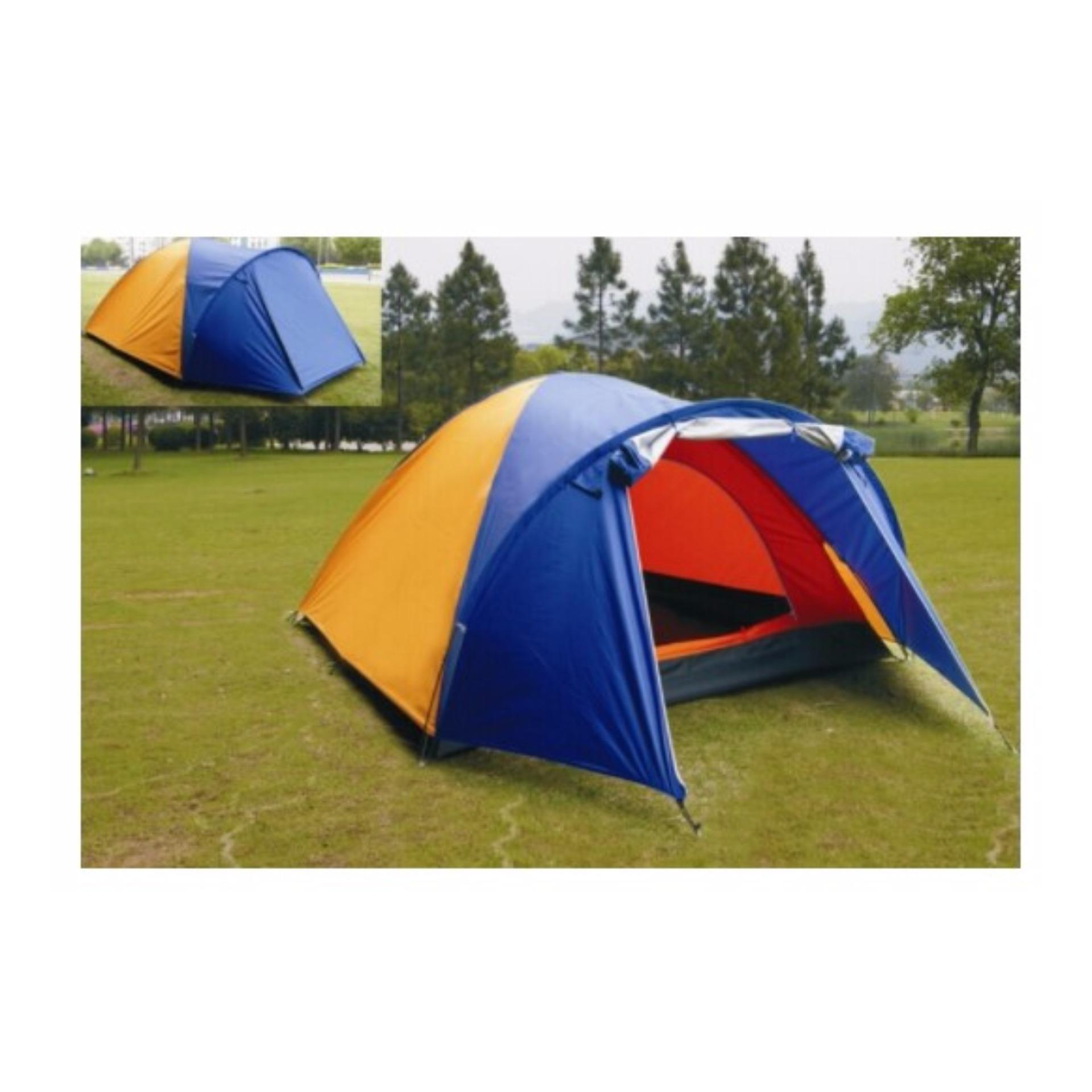 Flash Sale (VNTG) Tenda Dome BNIX/Sheng Yuan BN012 Double Layer 3-4 Orang