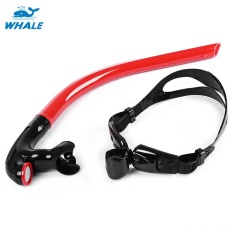 Whale Swimming Tube Center Snorkel For Diving (Red) - intl