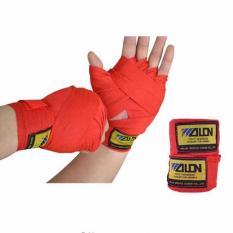 Wolon 2.5M Hand Wrap Bandage MMA Boxing Muaythai - Merah