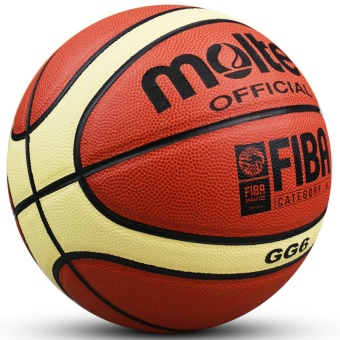 Women Basketball Genuine Molten GG6 Basketball Ball PU MateriaOfficial Size6 Basketball Free with Net Bag+ Needle+Pump - intl - 3