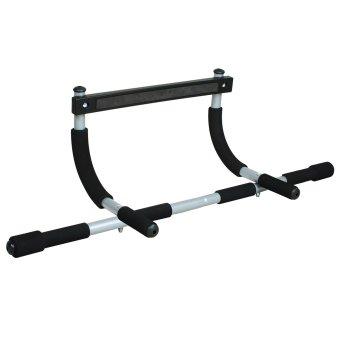 X-Fit Iron Gym - Hitam-Silver