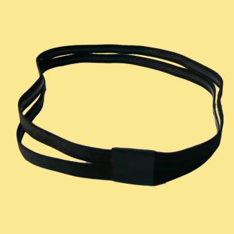 DISKON Yoga kebugaran berjalan tergelincir headband kebugaran karet rambut TERLARIS