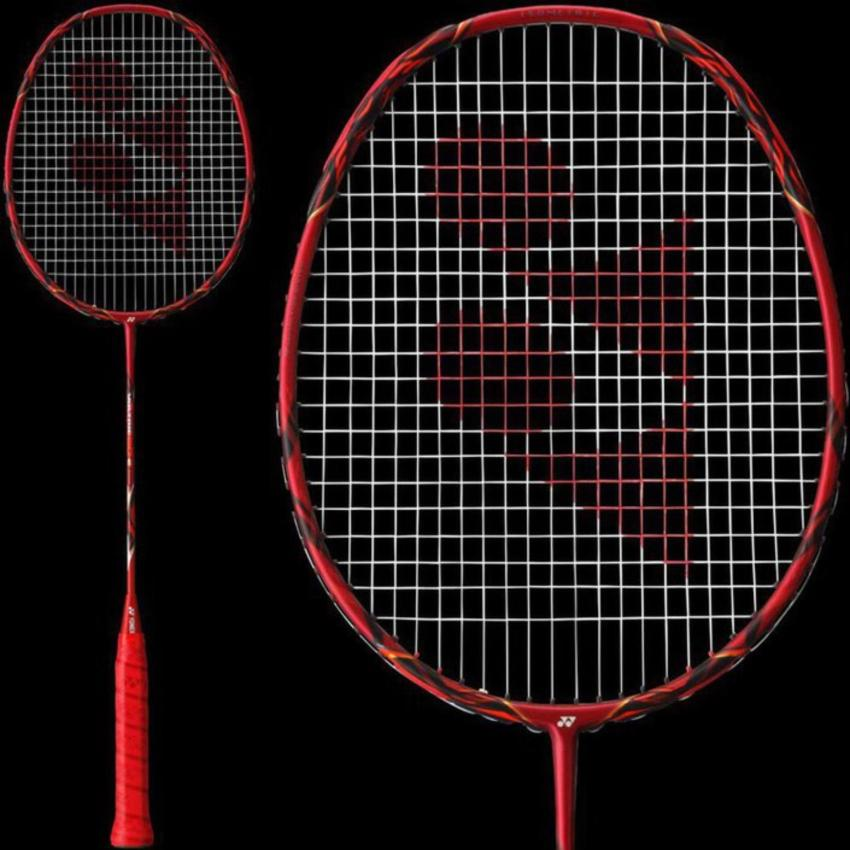 Yonex VOLTRIC 80 E-TUNE Raket Badminton (Matte Red) -