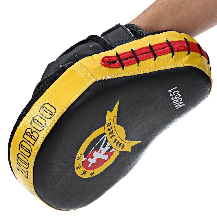 Zooboo 1 buah tangan sasaran MMA sarung tangan tinju fokus menghantam bantalan .