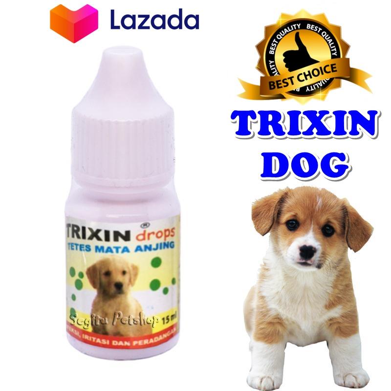 Obat Anjing Obat Tetes Mata Anjing Hidung Anjing Merah Berair Belekan Iritasi Radang Trixin Dog Kemasan 15ml Lazada Indonesia