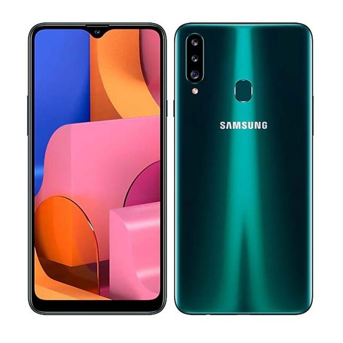 Samsung Galaxy A20s - 3GB/32GB - Green - Garansi Resmi