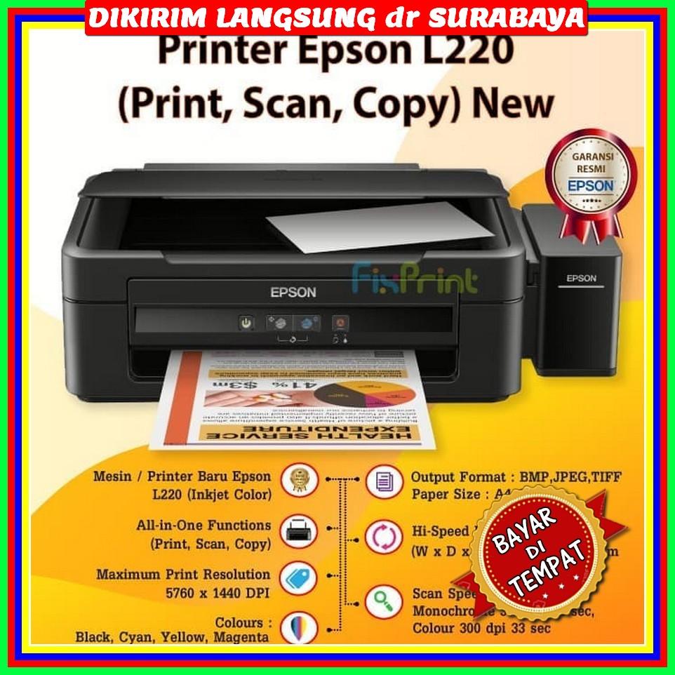 Printer Epson L220 Print Scan Copy New Lazada Indonesia