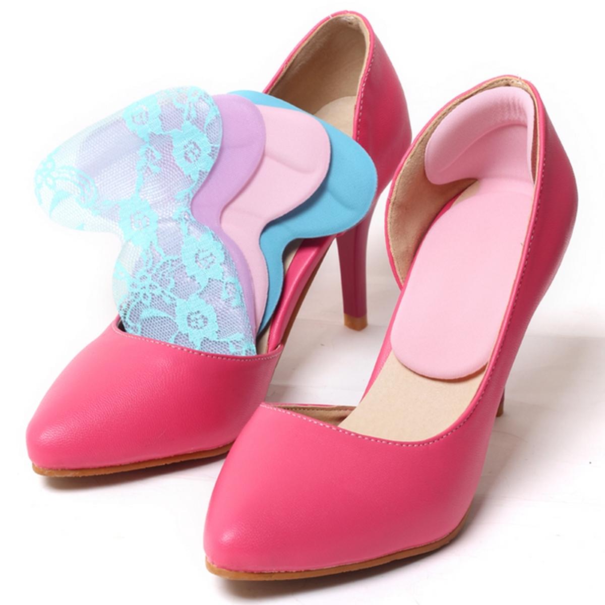 1 pasang bantal silikon Gel perawatan kaki memasang sol penggaris sepatu hak tinggi .