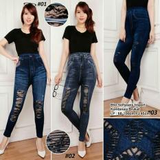 ... 168 Collection Celana Jegging Big Clara Jeans Pant Biru Tua Source Biru Cek Harga Source Harga