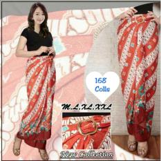 168 Collection Rok Maxi Lilit Camelia Batik Merah .