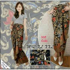 ... Yuliana Batik Coklat Cek Harga Source 168 Collection Rok Maxi Lilit Fransisca Batik Orange Price List