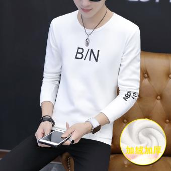 Periksa Peringkat 2017 baru musim dingin bottoming kemeja pria ditambah beludru tebal pria musim dingin kemeja Korea Fashion Style tren lengan panjang ...