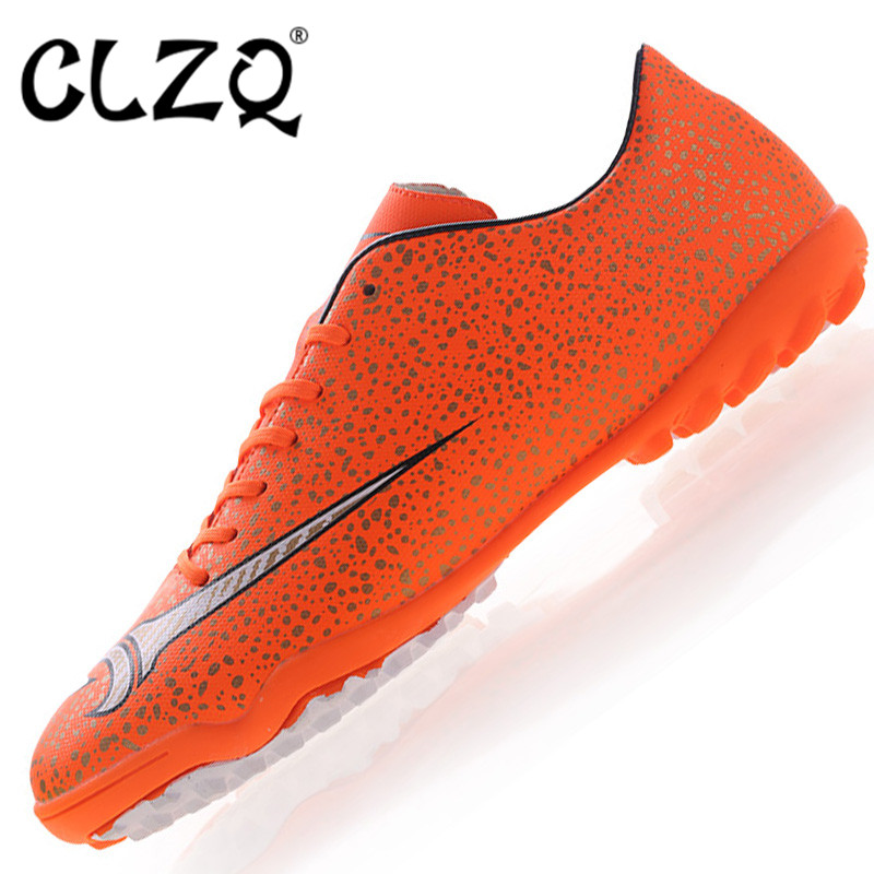 2017 New Professional Training Soccer Shoes Men Outdoor SportsSoccer Shoes TF Flat Bottom .