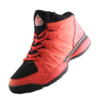 2BEAT Wave Sepatu Basketball - Red Black