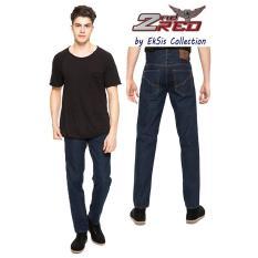 2Nd RED Celana Jeans Pria Best Seller Basic Denim Dongker- Eksis Collection124194