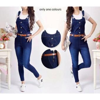 369 Jumpsuit Jeans Dark Blue