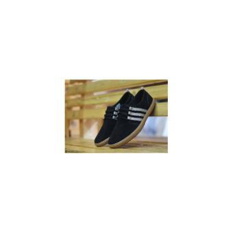 harga Adidas Royale Slip On Coklat Sepatu Casual Sneaker Pria WanitaKerja Kantor Lapangan Santai Hangout Keren Lazada.co.id