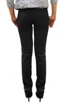 Adore Celana Panjang Big Size Basic - Hitam - 4