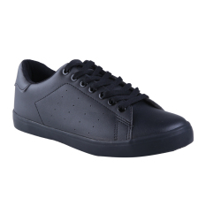 Airwalk Jeko Sepatu Sneakers Unisex - Mono Black