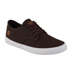 Airwalk Jisaac Sepatu Sneakers Pria - Dark Brown