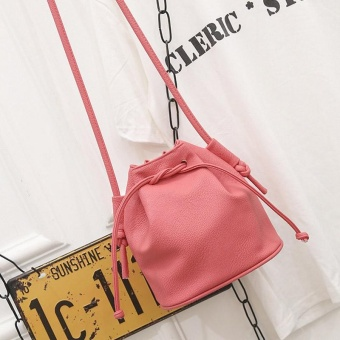 BELI SEKARANG Amart tas tangan wanita tas selempang kurir bahu kulit PU  berbentuk ember kecil Klik di sini !!! 180f64d426
