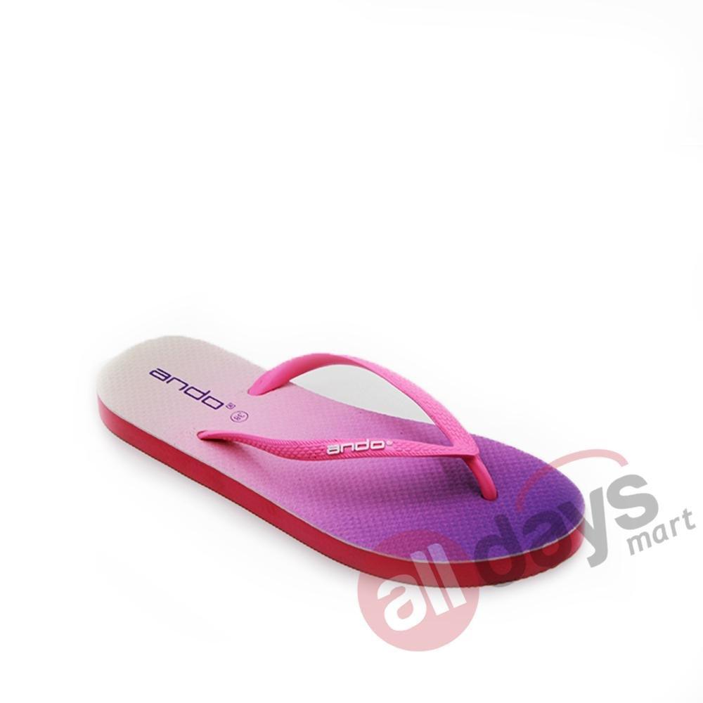 Ando Sandal Jepit Nice Spectrum Ladies - Turquise