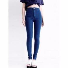 Anggun - Celana Jeans Wanita – HW Premium – Harga Murah – Biru jeans