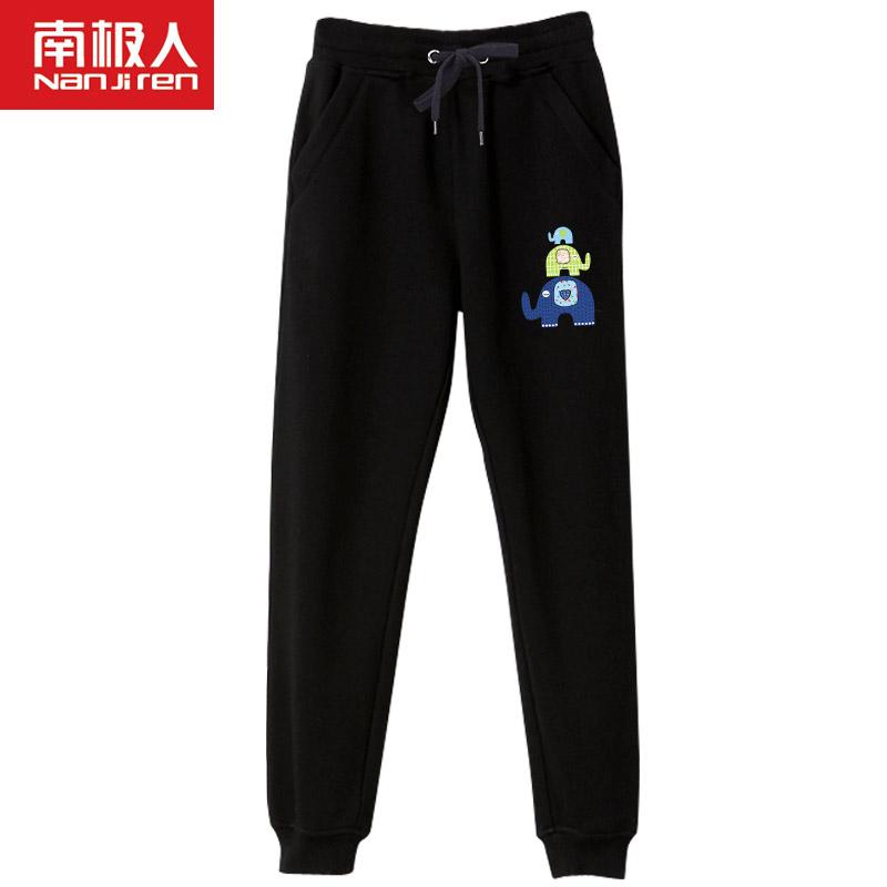 Antartika musim semi dan musim gugur baru kaki celana olahraga celana celana (Hitam) (