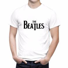 Iconic Design Tumblr Tee T Shirt Kaos Wanita The Beatles White HELLO KITTY T Shirt Source
