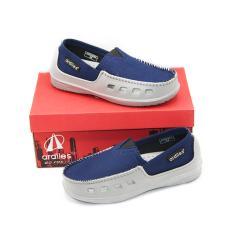 Ardiles Paylon Sepatu Kasual Anak Slip On Moccasin Pasadena (TG) - Biru Size 34-37