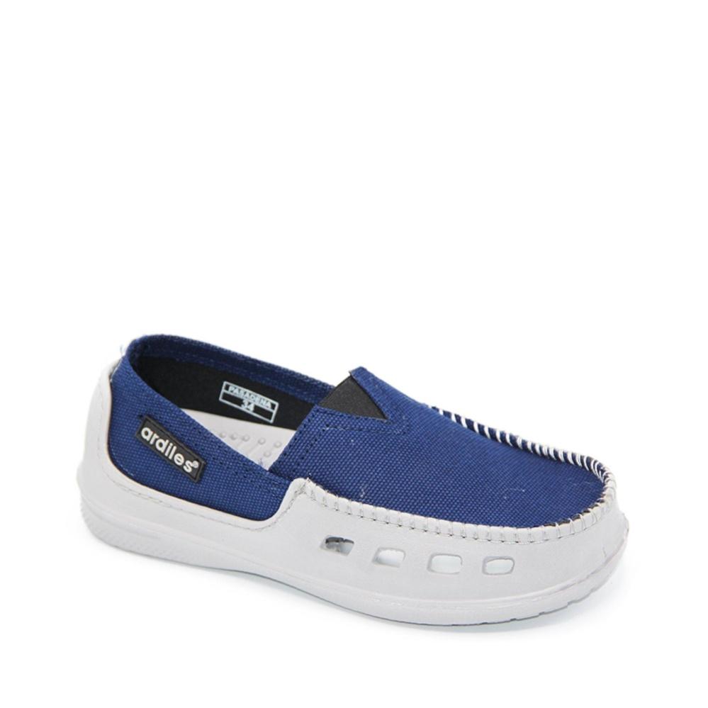 ... Ardiles Paylon Sepatu Kasual Anak Slip On Moccasin Pasadena (TG) - Biru Size 34 ...