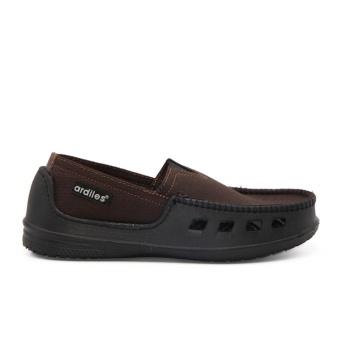 Ardiles Paylon Sepatu Kasual Anak Slip On Moccasin Pasadena (TG) - Coklat Size 34-37 - 3