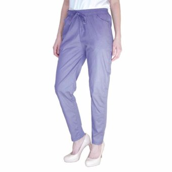Harga Arena Belanja plus size drawstring pants denim