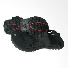 arsy collections sandal gunung pria selop - hitam