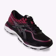 Asics Gel-Cumulus 19 Women's Running Shoes - Standard Wide - Hitam