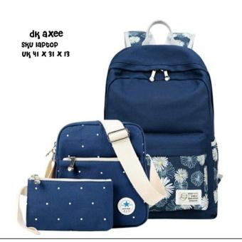 63822e1c0ec4 ... Travelbag Jumbo Canvas Source · Backpack 3 in 1 Floral Pocket Backpack  Tas Ransel Sling Bag Tas