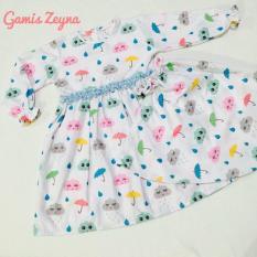 Baju Anak Gamis Zeyna Katun Catra Premium