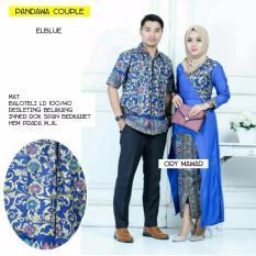 """Baju Batik Couple/ Batik Sarimbit """"Pandawa Couple"""" - BIRU"""