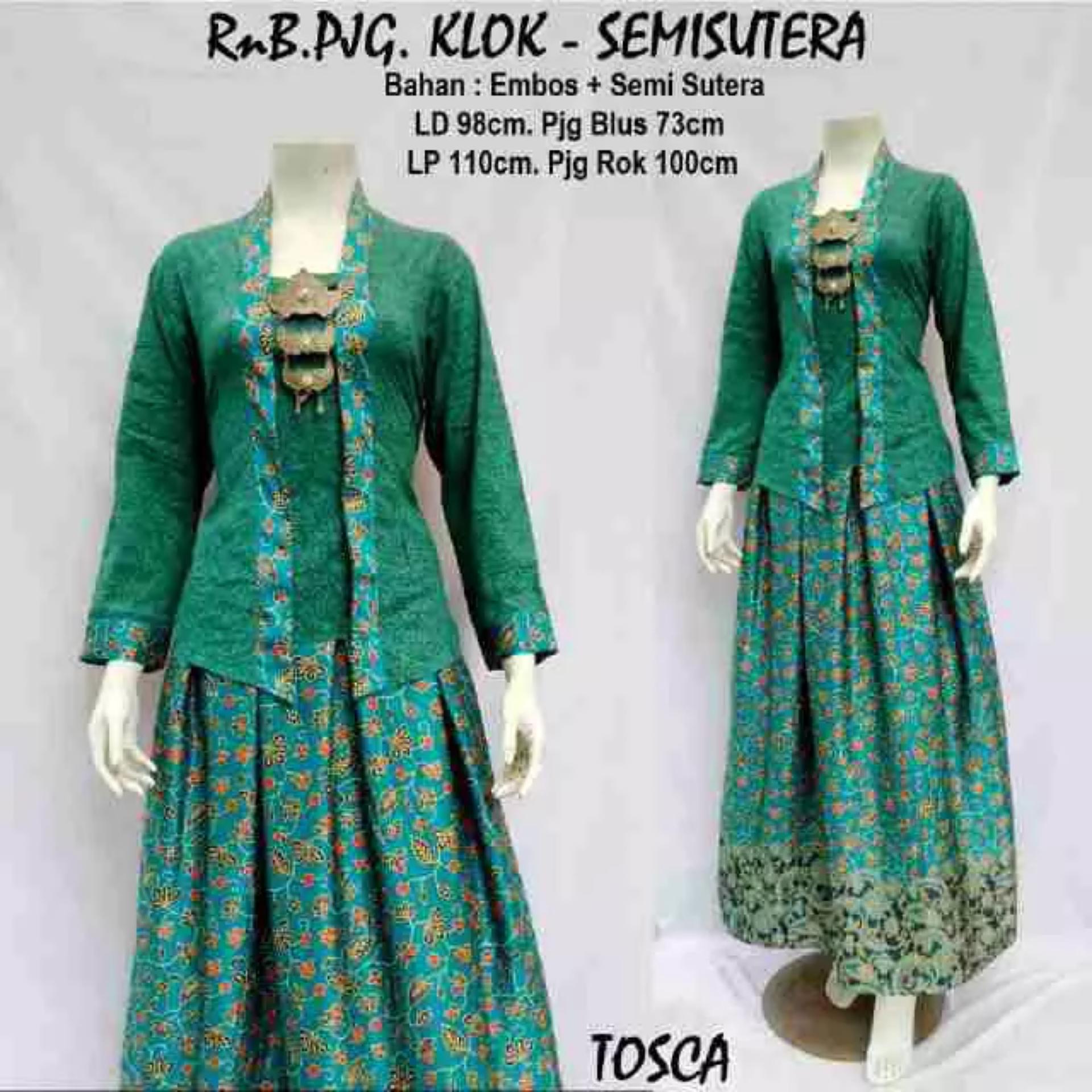 Perbandingan Harga Baju Batik Stelan Rok Dan Blus Embos Semsut Dress Setelan Avina Mocca