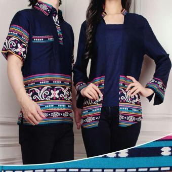 harga baju couple - baju pasangan - pakaian couple cp cika Lazada.co.id