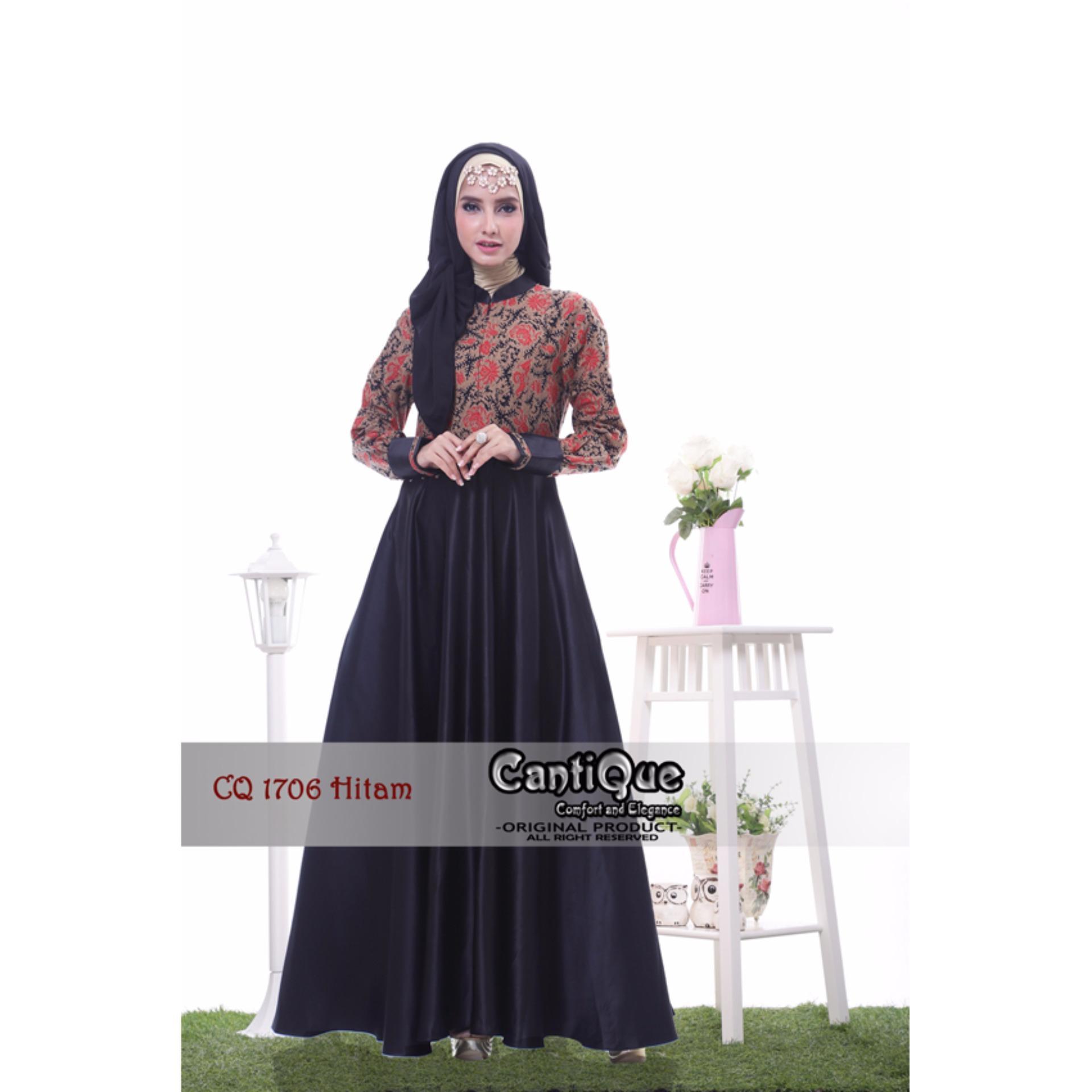 Anggaran Terbaik Baju Lebaran Gamis Muslim Pesta Nyaman Untuk Ibu