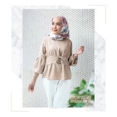 Baju Original Arshy Top Baju Blus Atasan Wanita Baju Kerja Blouse Kemeja Perempuan Pakaian Kerja Baju